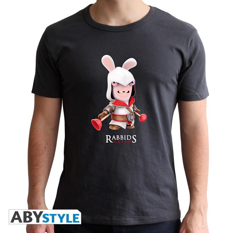 LAPINS CRETINS - Spoof Assassin - T-Shirt - Homme - (XXL)
