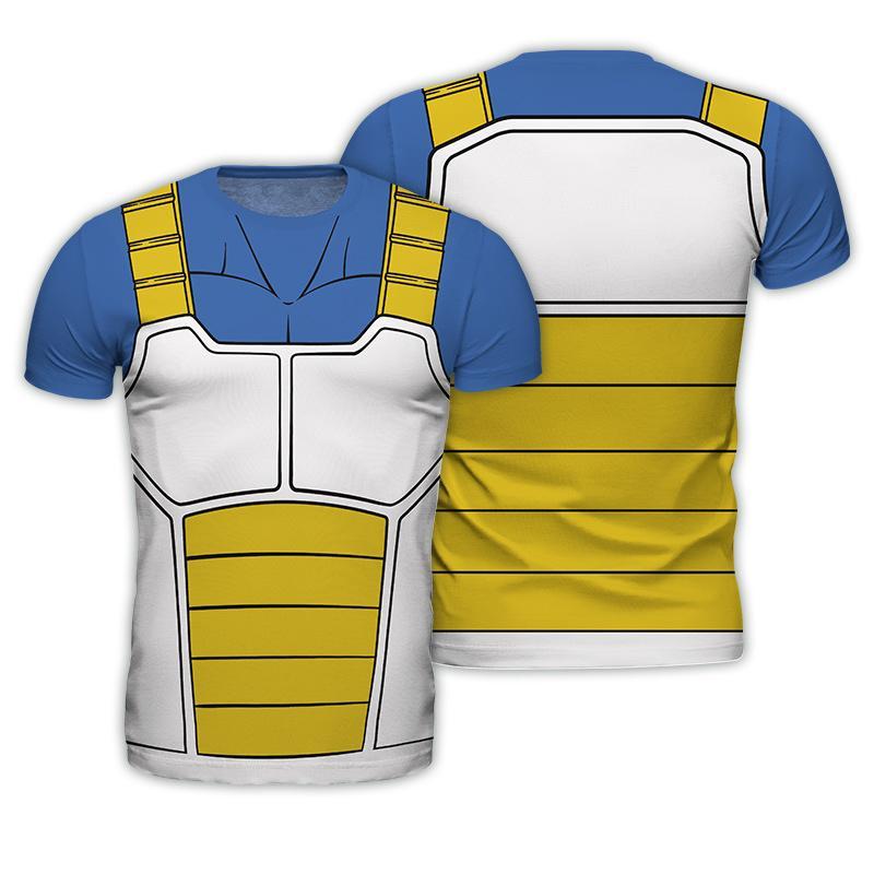DRAGON BALL - T-Shirt COSPLAY - Vegeta (S)