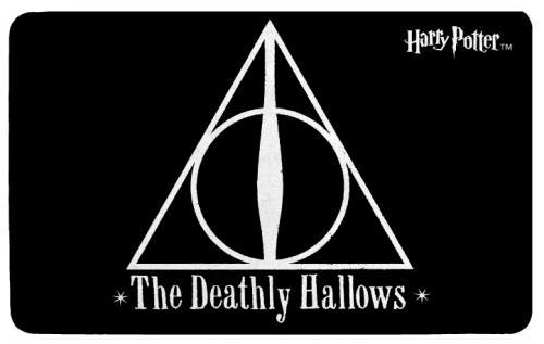 HARRY POTTER - Tapis d'intérieur - 70x50cm - Les Reliques de la Mort
