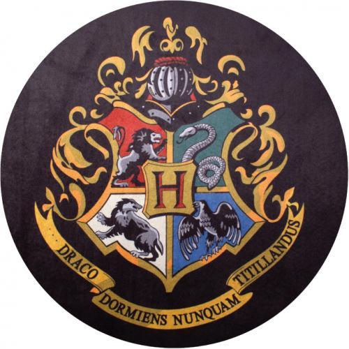 HARRY POTTER - Tapis d'intérieur - Diamètre 80cm - Hogwarts