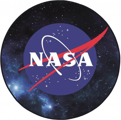 NASA - Tapis d'intérieur - Diamètre 80cm - Logo Space
