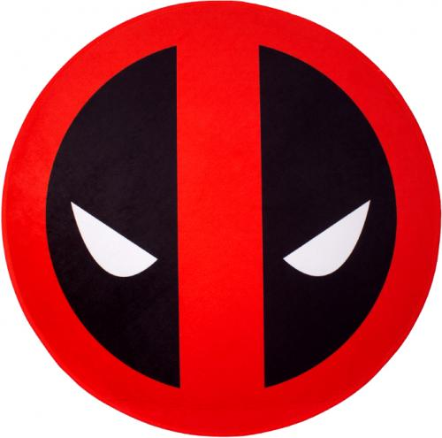 DEADPOOL - Tapis d'intérieur - Diamètre 80cm - Deadpool Face
