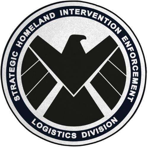 SHIELD - Tapis d'intérieur - Diamètre 80cm - Logistics Division