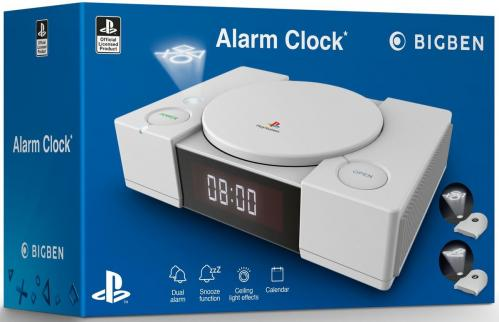 Official Playstation Radio Clock with Projection