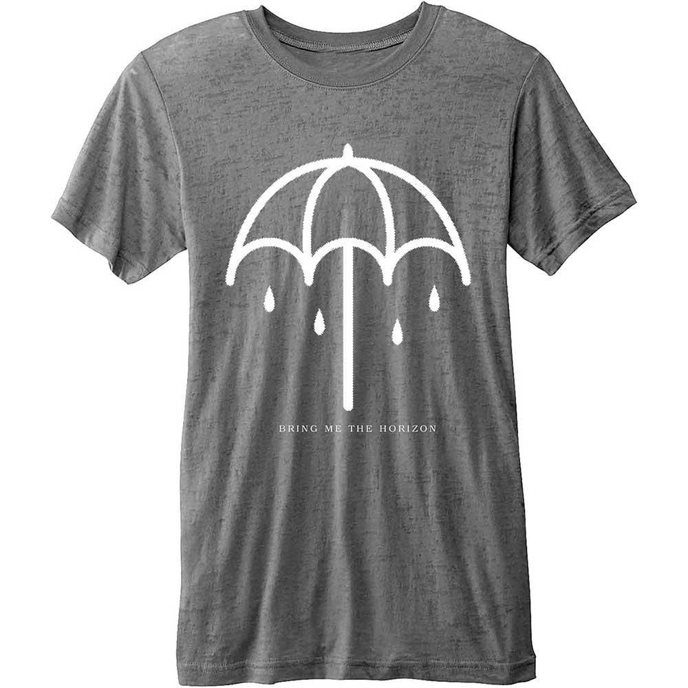 BRING ME THE HORIZON - T-Shirt - Umbrella - Grey - Men (L)
