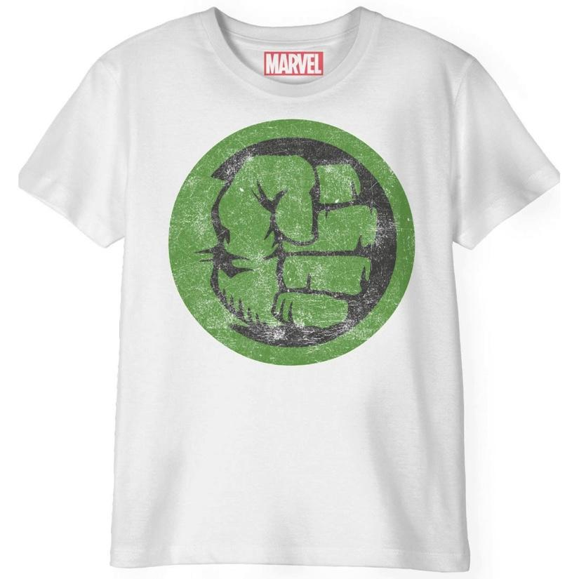 MARVEL - T-Shirt Enfant - Hulk Punch Logo (6 ans)_1