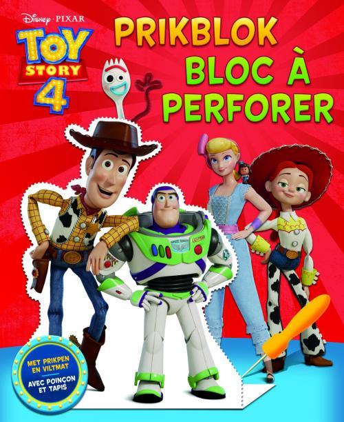 Disney - Bloc à perforer - Toy Story 4