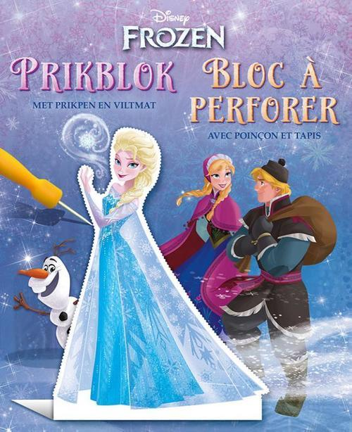 Disney - Bloc à perforer - Frozen