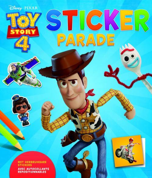 Disney - Sticker Parade - Toy Story 4