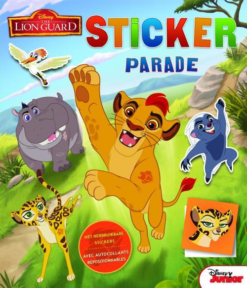 Disney - Sticker Parade - The Lion Guard