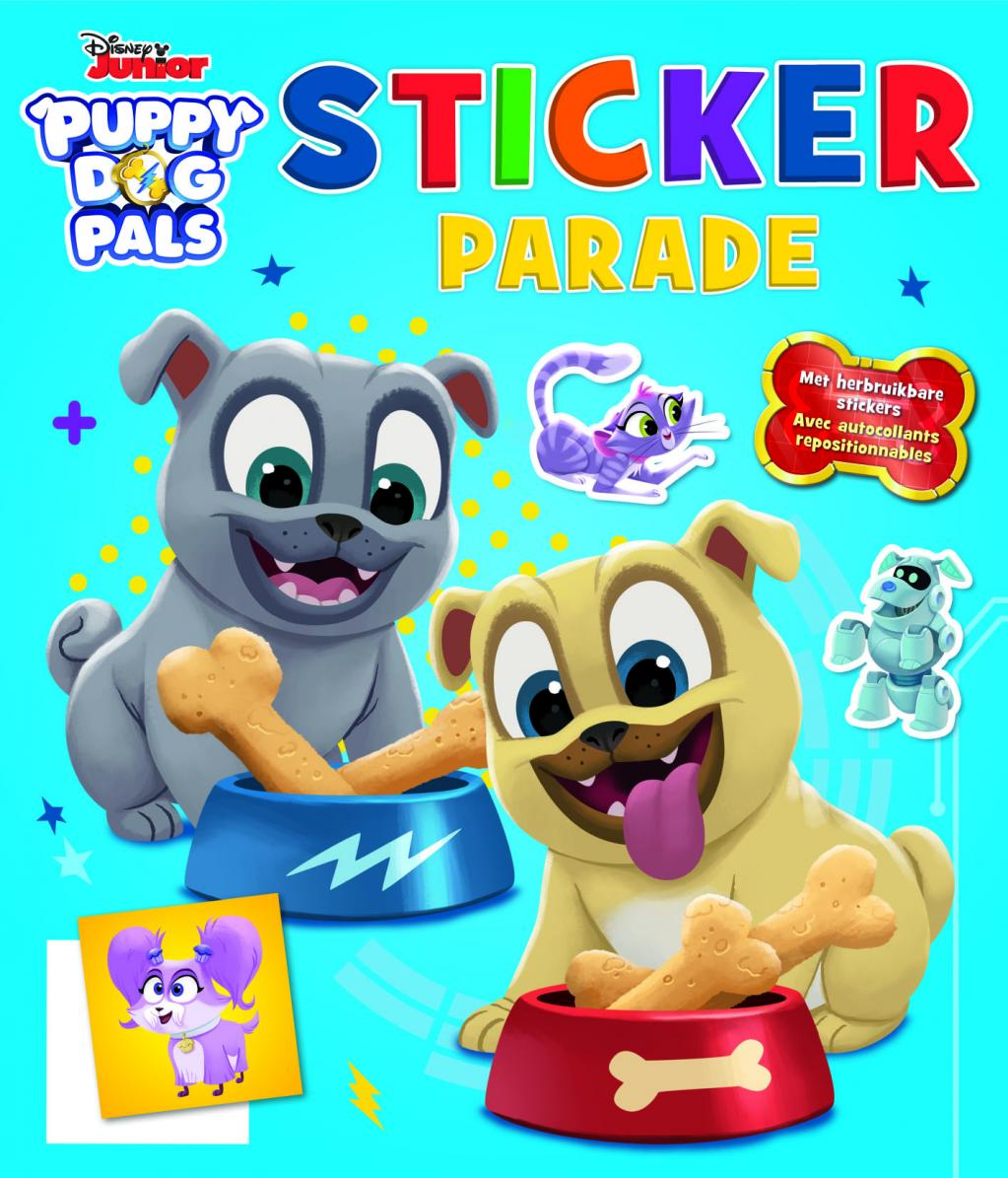 Disney - Sticker Parade - Puppy Dog Pals