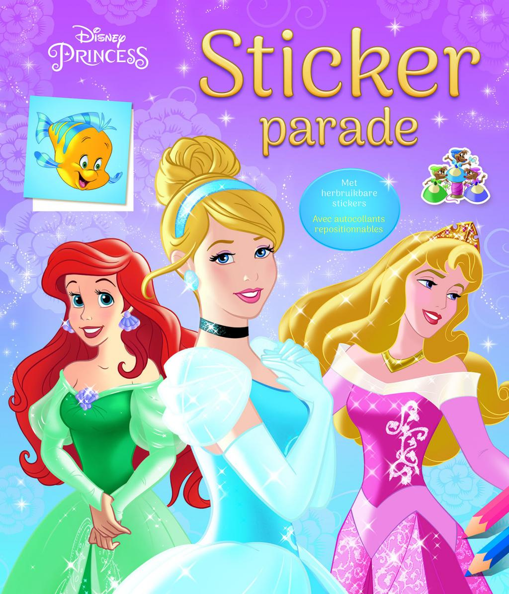 Disney - Sticker Parade - Princess