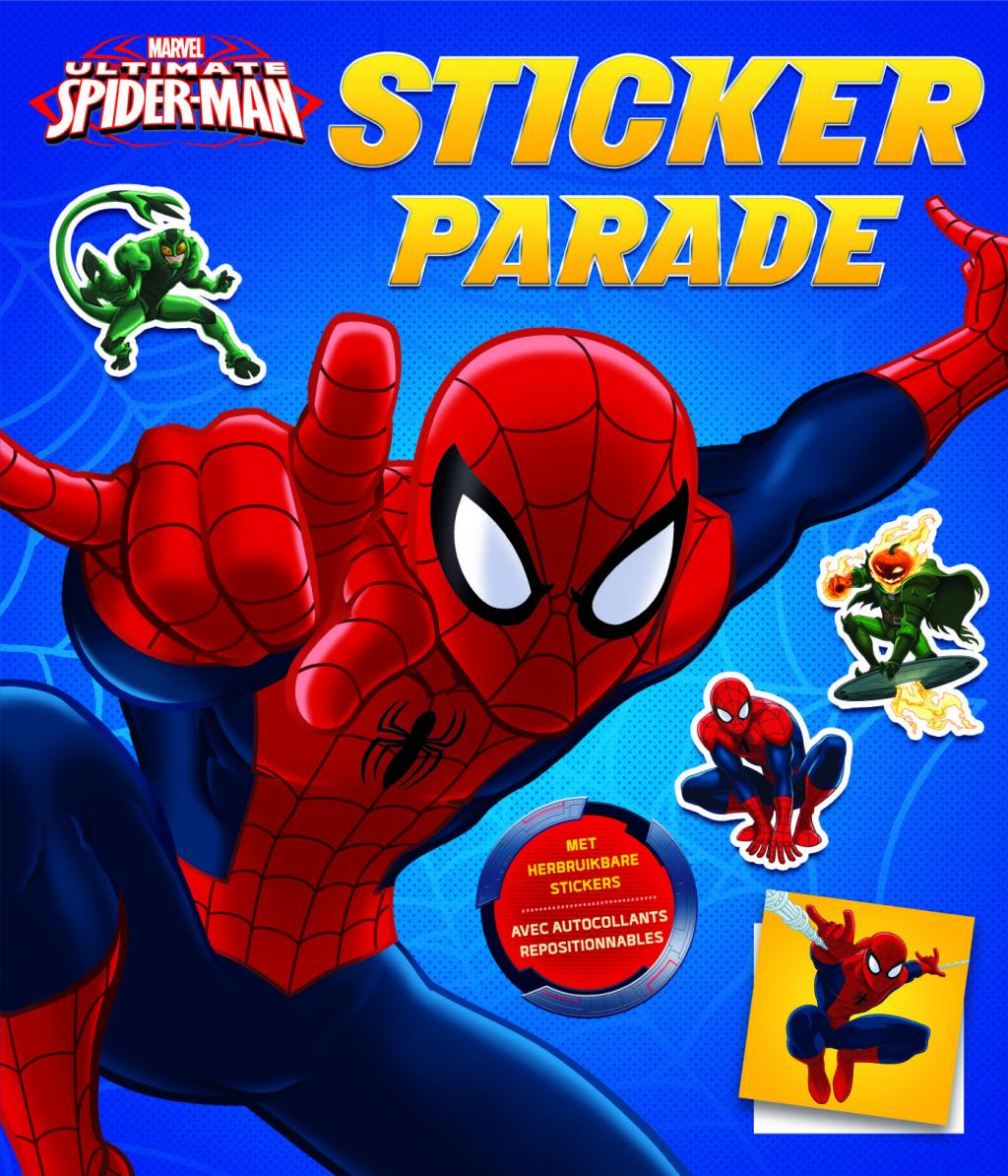 Ultime Spider-Man - Sticker Parade