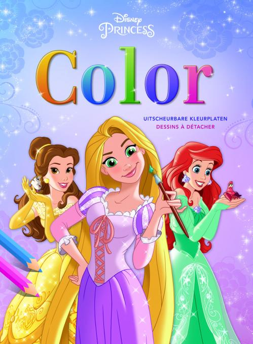 Disney - Bloc de coloriage - Princess