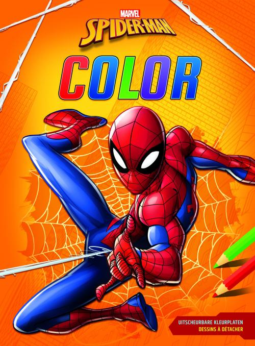 Spider-Man - Bloc de coloriage
