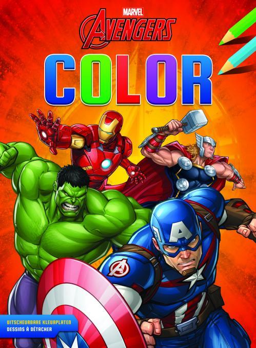Avengers - Bloc de coloriage