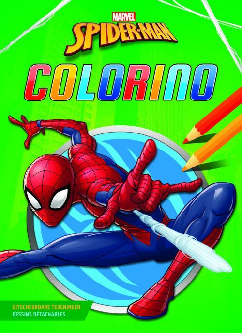 Spider-Man - Bloc de coloriage Colorino