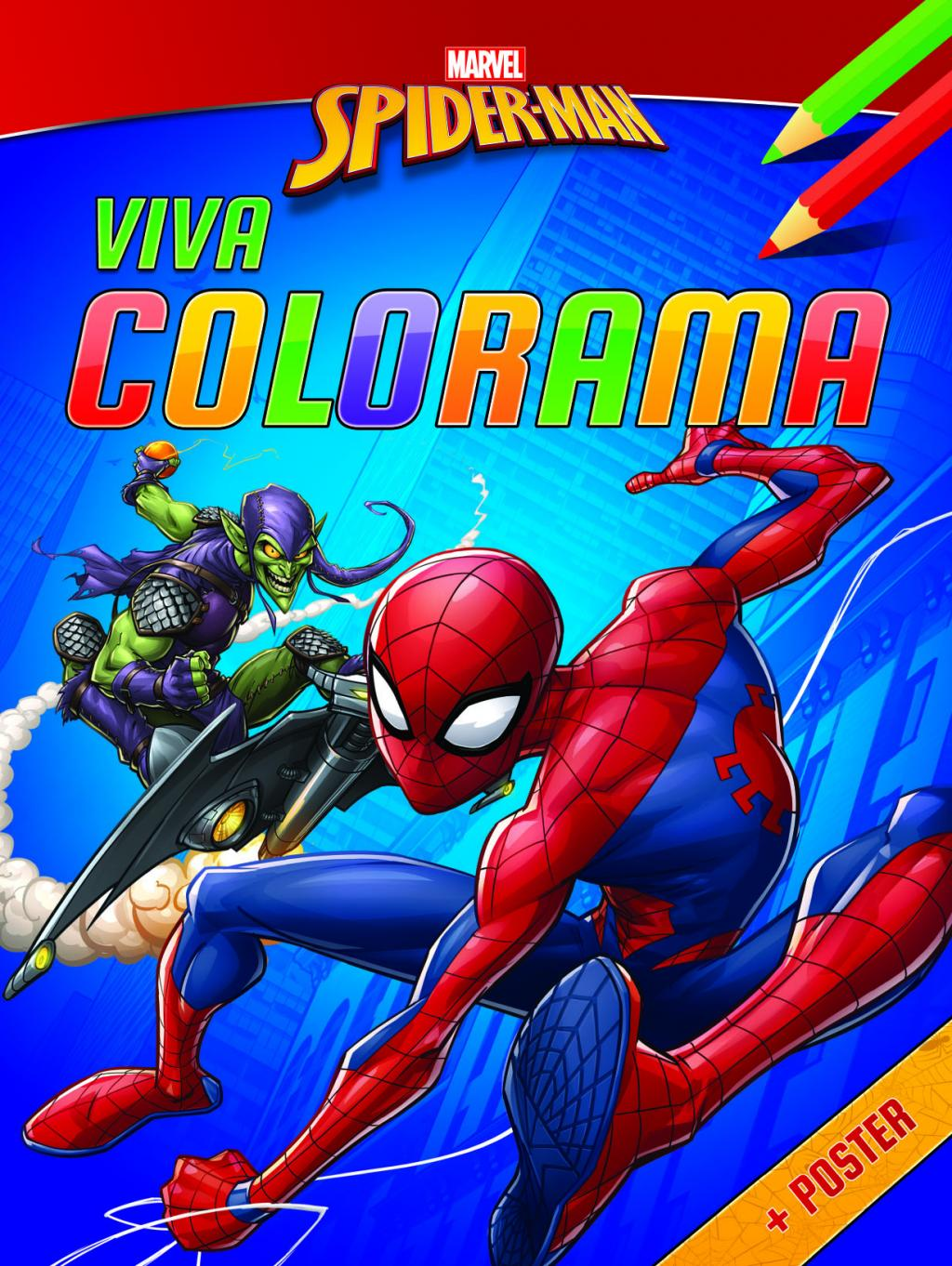 Spider-Man - Viva Colorama (avec poster)