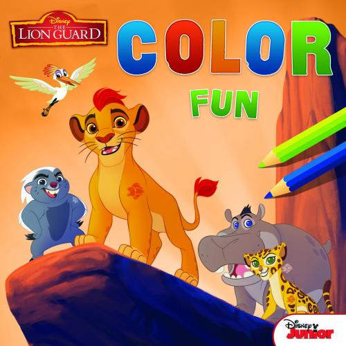 Disney - Color Fun The Lion Guard