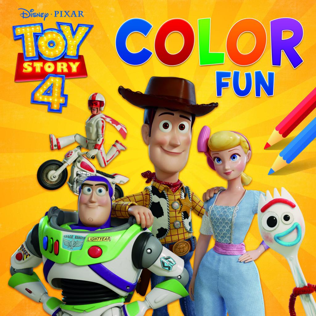 Disney - Color Fun Toy Story 4