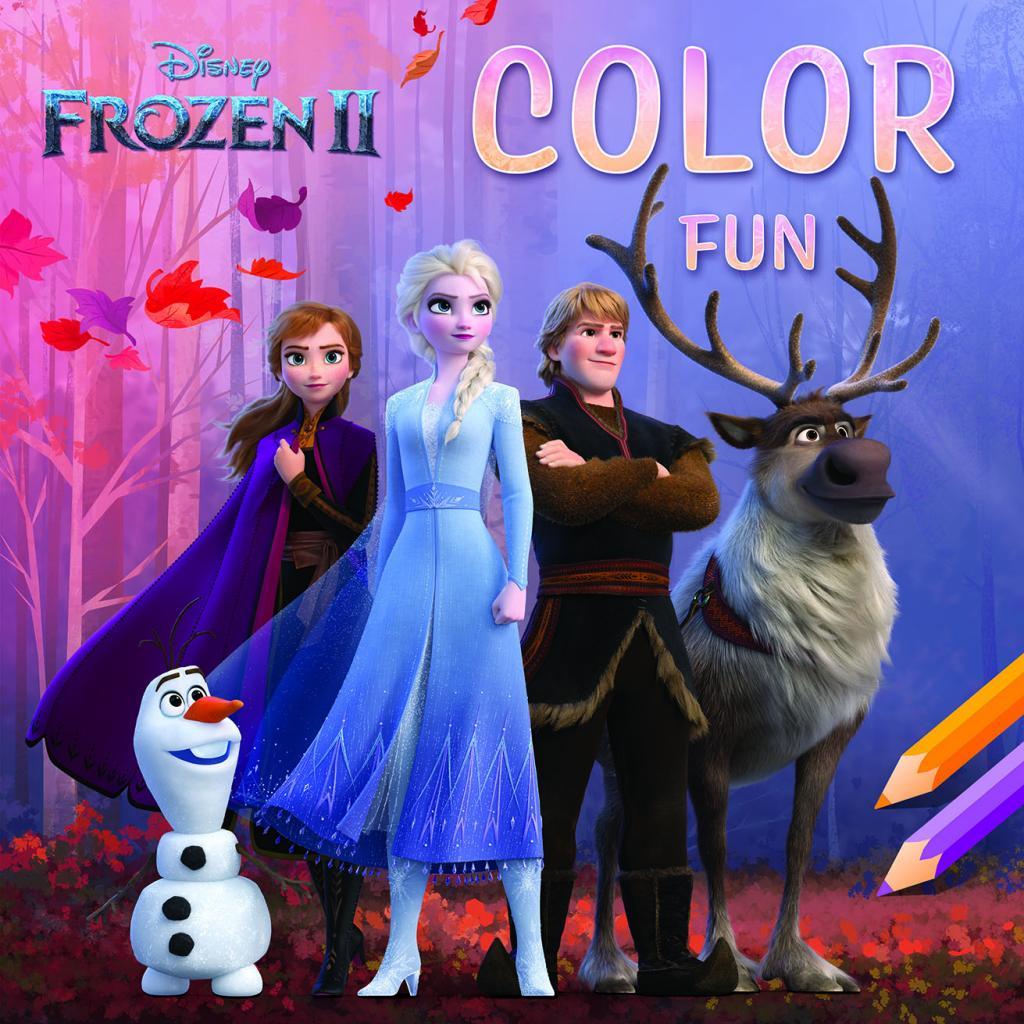 Disney - Color Fun Frozen 2