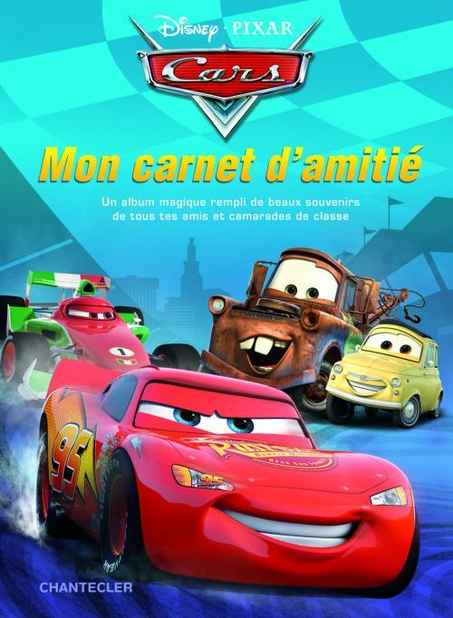 Disney - Mon carnet d'amitié Cars