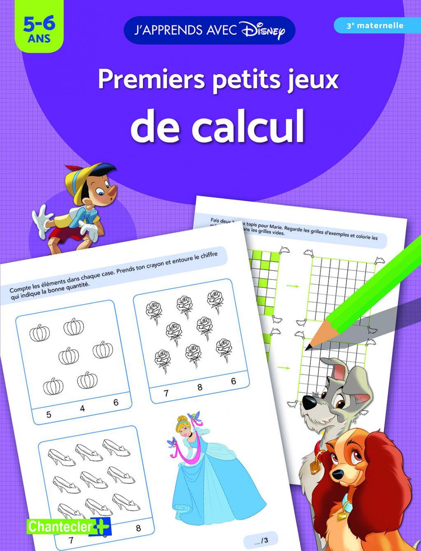ShopForGeek | J'apprends avec Disney - Premiers petits jeux de calcul - (5-6 ans ...