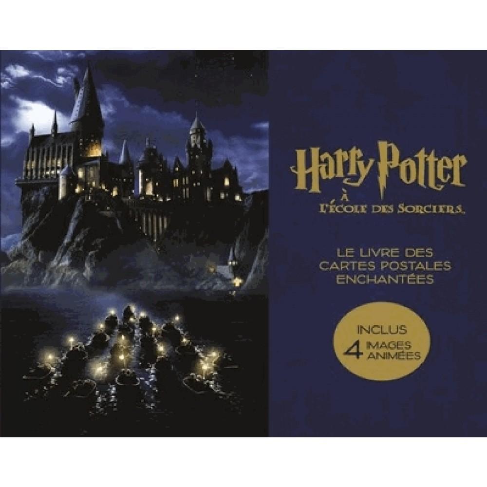 HARRY POTTER - Le Livres des Cartes Postales Enchantées_1