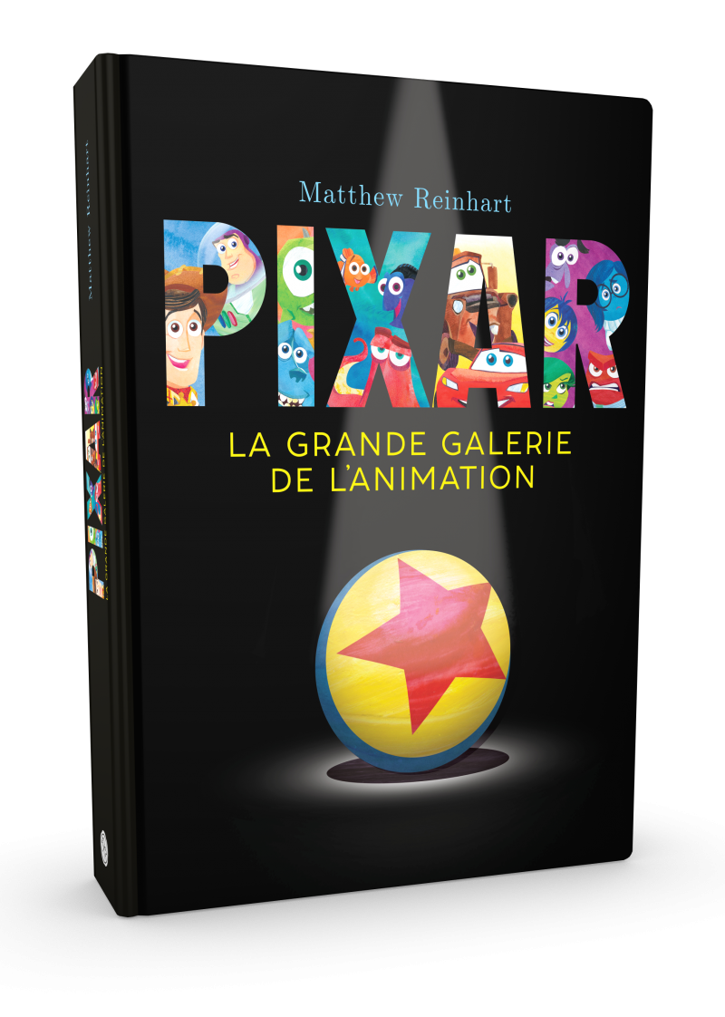 Pop-up Pixar, la grande galerie de l?animation