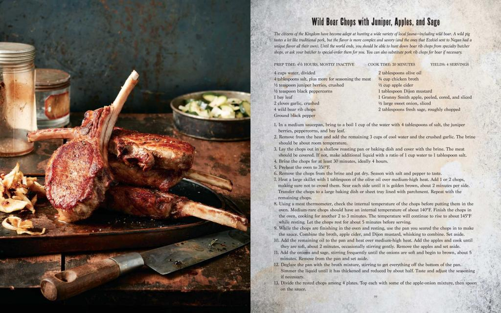 WALKING DEAD - The Official Cookbook and Survival Guide (UK)_4