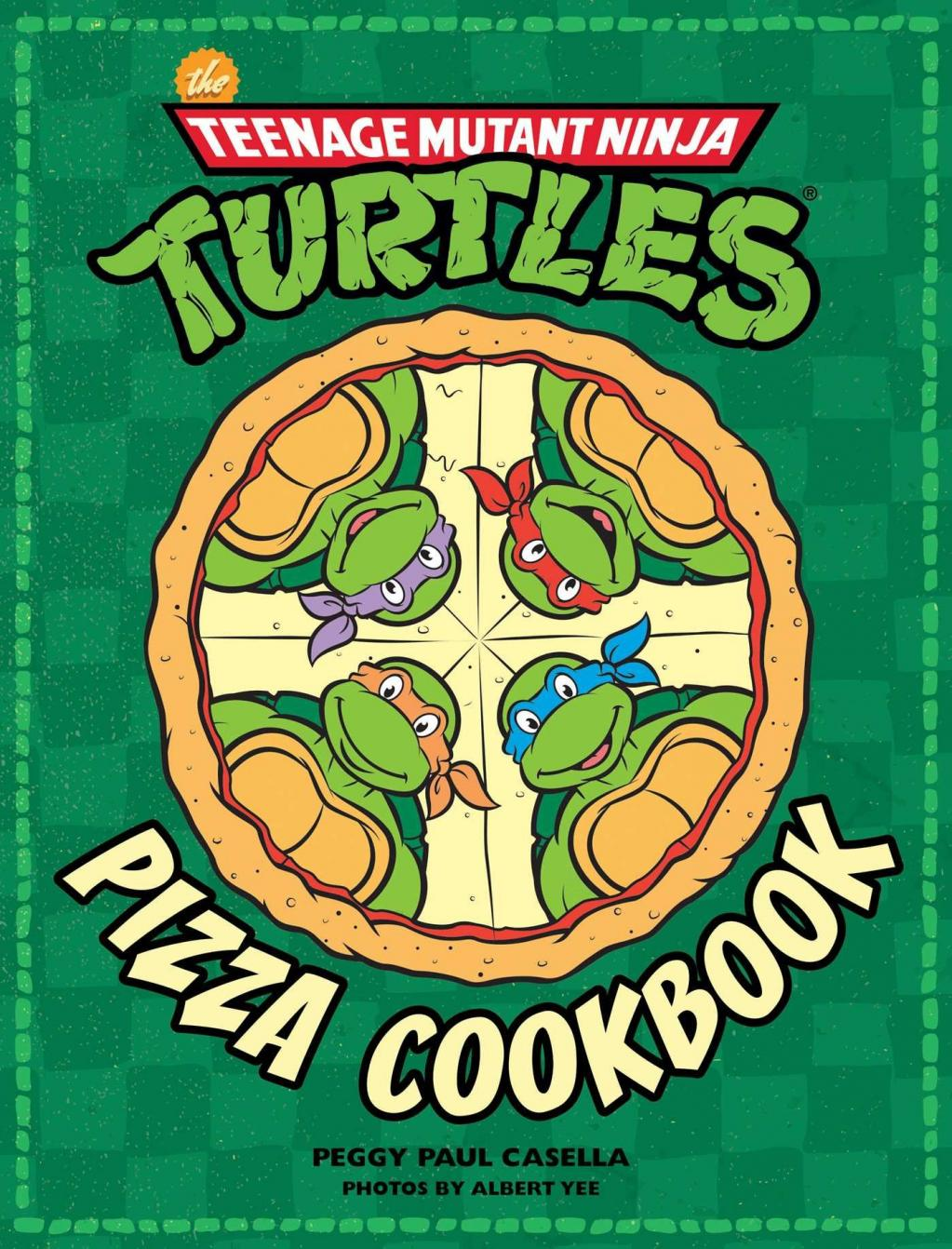 TEENAGE MUTANT NINJA TURTLES - Pizza Cookbook (UK)