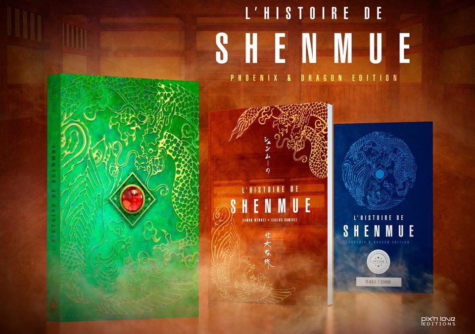 L'Histoire de SHENMUE- Phoenix & Dragon Edition ( Pix N Love Edit. )