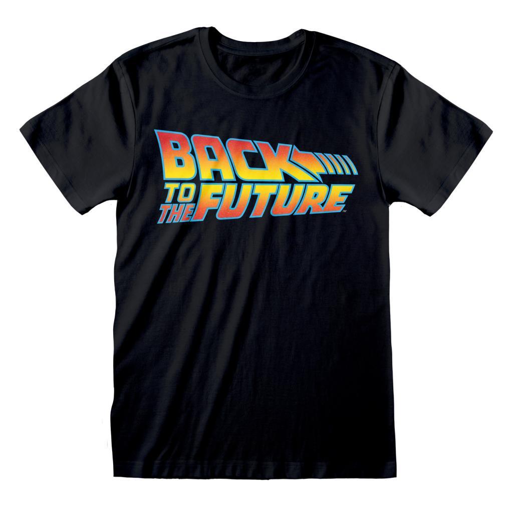 BACK TO THE FUTURE - Original Logo - T-Shirt Homme (M)_1