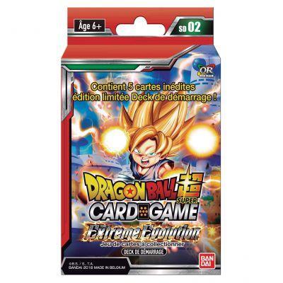 DRAGON BALL SUPER Card Games - Starter 02 / FR - Pce