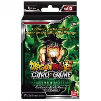 DRAGON BALL SUPER Card Games - Starter 03 / FR - Pce