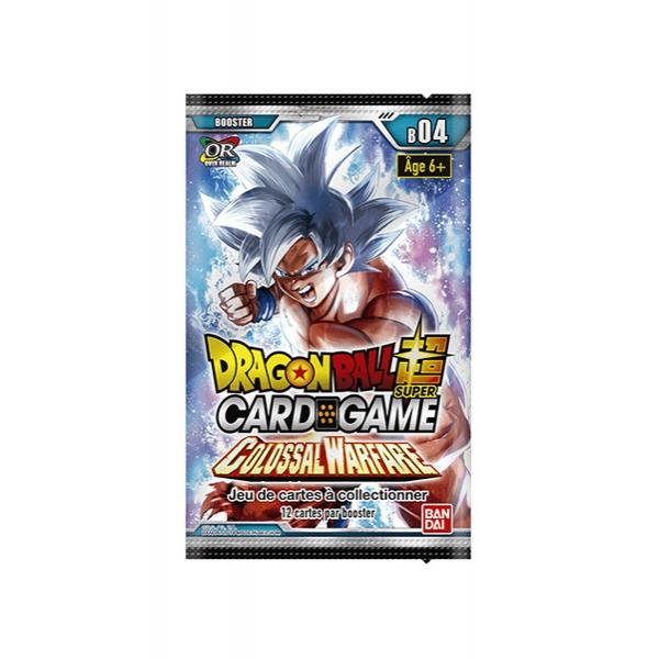 DRAGON BALL SUPER Card Games - Booster 04 / FR - Pce