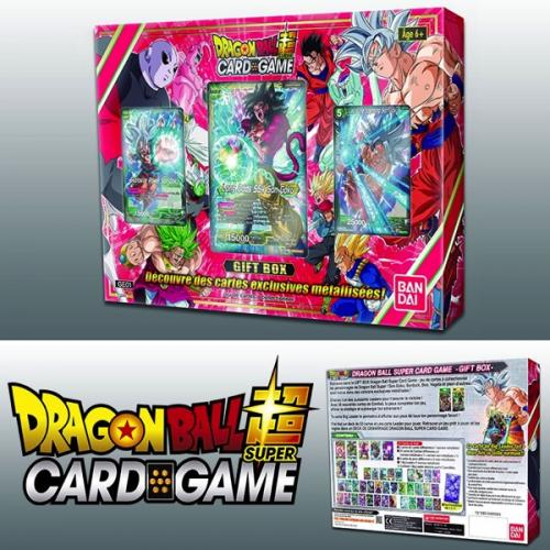 DRAGON BALL SUPER Card Games - Gift Box 2018