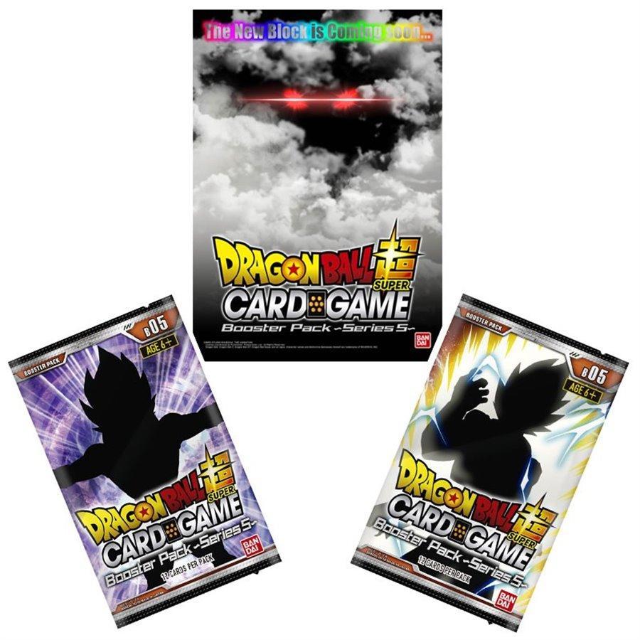 DRAGON BALL SUPER Card Games - Booster 05 / FR - Boite de 24