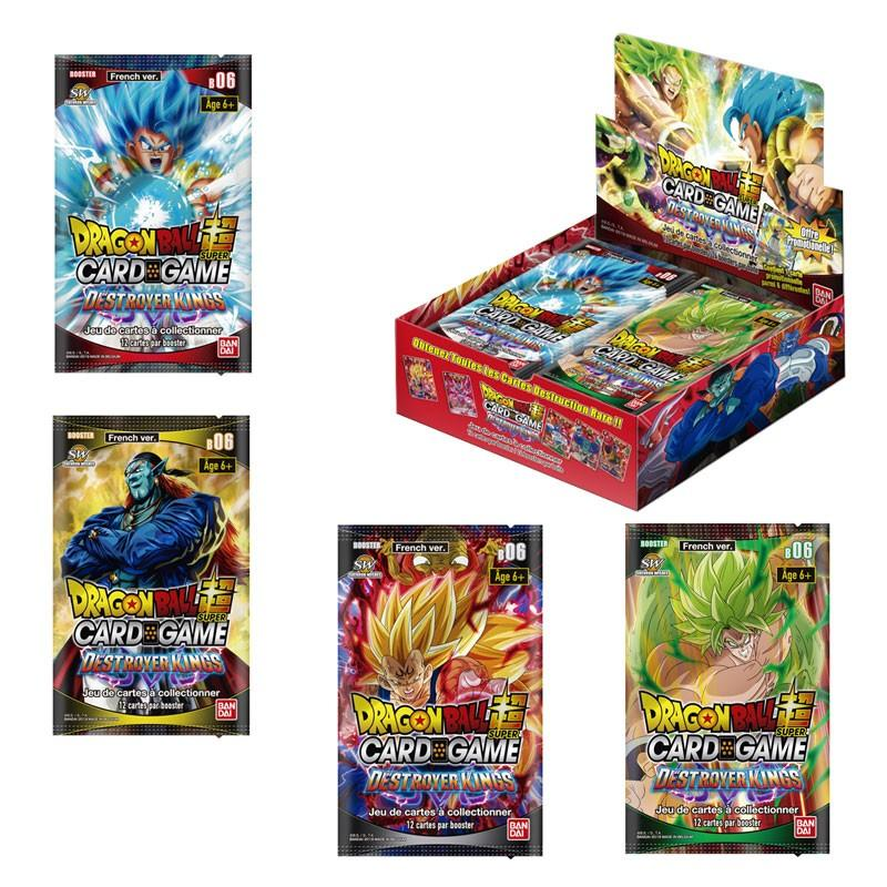 DRAGON BALL SUPER Card Games - Booster 06 / FR - Boite de 24