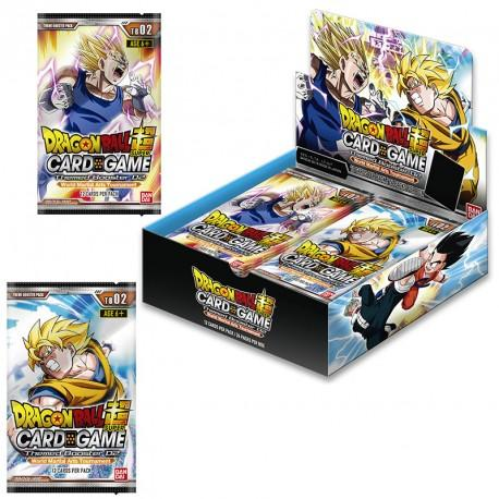 DRAGON BALL SUPER Card Games - Theme Booster 02 / FR - Boite de 24