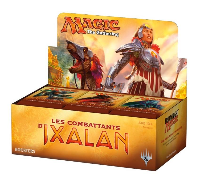 MAGIC THE GATHERING - Booster Les Combattants D'Ixalan 'Bte de 36' FR