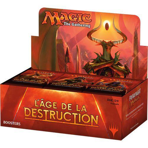 MAGIC THE GATHERING - Booster L'Age de la Destruction 'Bte de 36' - FR