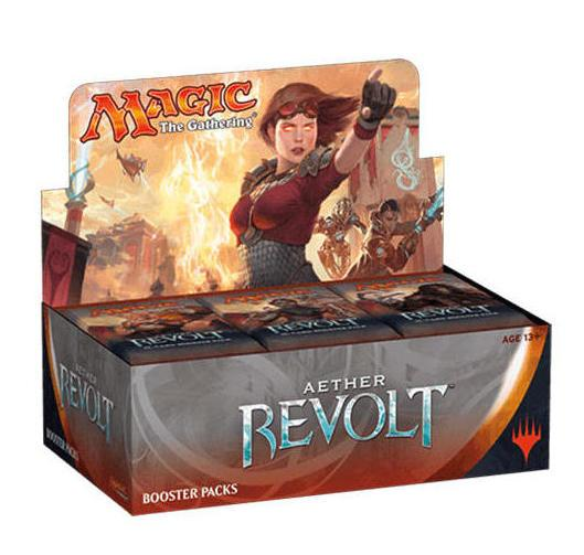 MAGIC THE GATHERING - Booster Aether Revolt 'Box 36' - UK