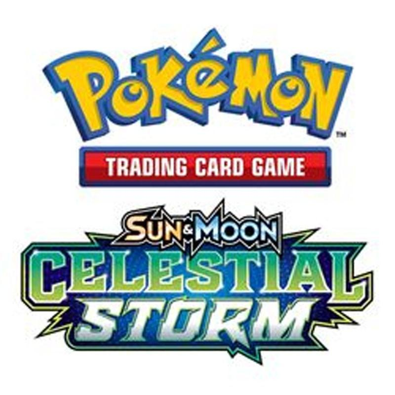 POKEMON JCC - Ex Sun & Moon 07 - Celestial Storm Booster - UK