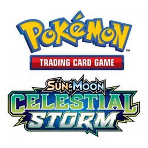POKEMON JCC - Ex Sun & Moon 07 - Celestial Storm Theme Deck - UK
