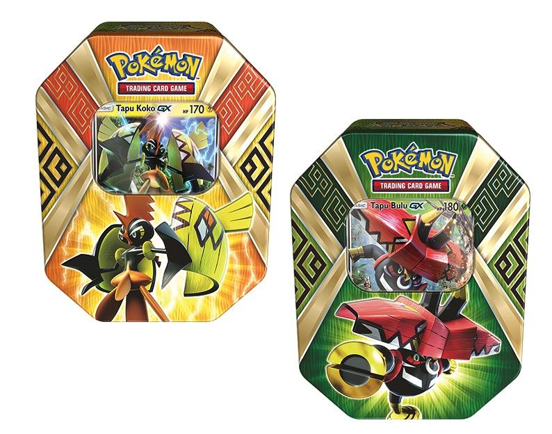 POKEMON JCC - Tin Box - GX Summer 2017 (UK) Modéle Aléatoir