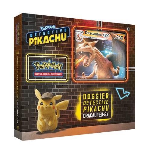POKEMON - Dossier Détective Pikachu - Dracaufeu-GX