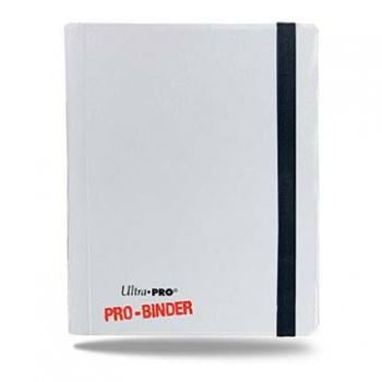 ULTRA PRO - Pro-Binder - 4 Pocket Portfolio - 80 Cards - White
