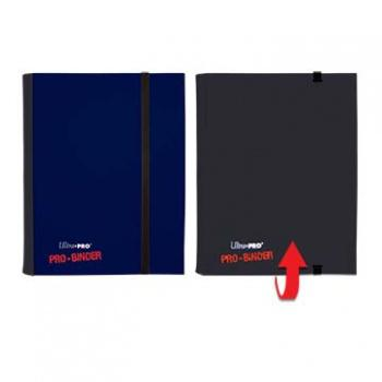 ULTRA PRO - Pro-Binder - 4 Pocket Portfolio - 80 Cards - Blue/Black