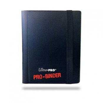 ULTRA PRO - Pro-Binder - 2 Pocket Portfolio - 40 Cards - Black